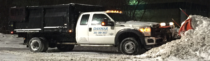 Commercial Snow Removal Bergen County, NJ - Banner